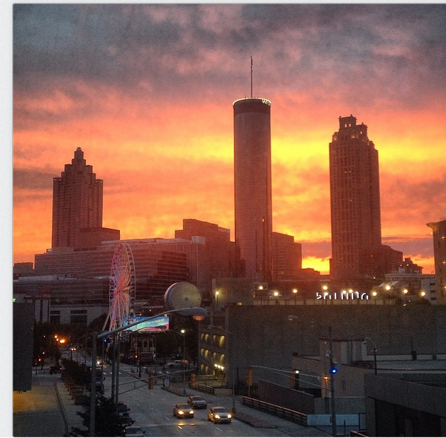 Photo of the Day: See Sunrise in Atlanta