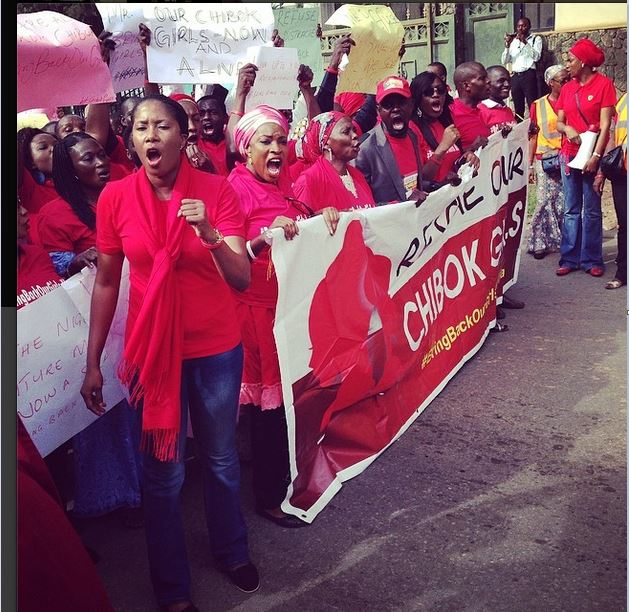 Photo of the Day: #BringBackOurGirls