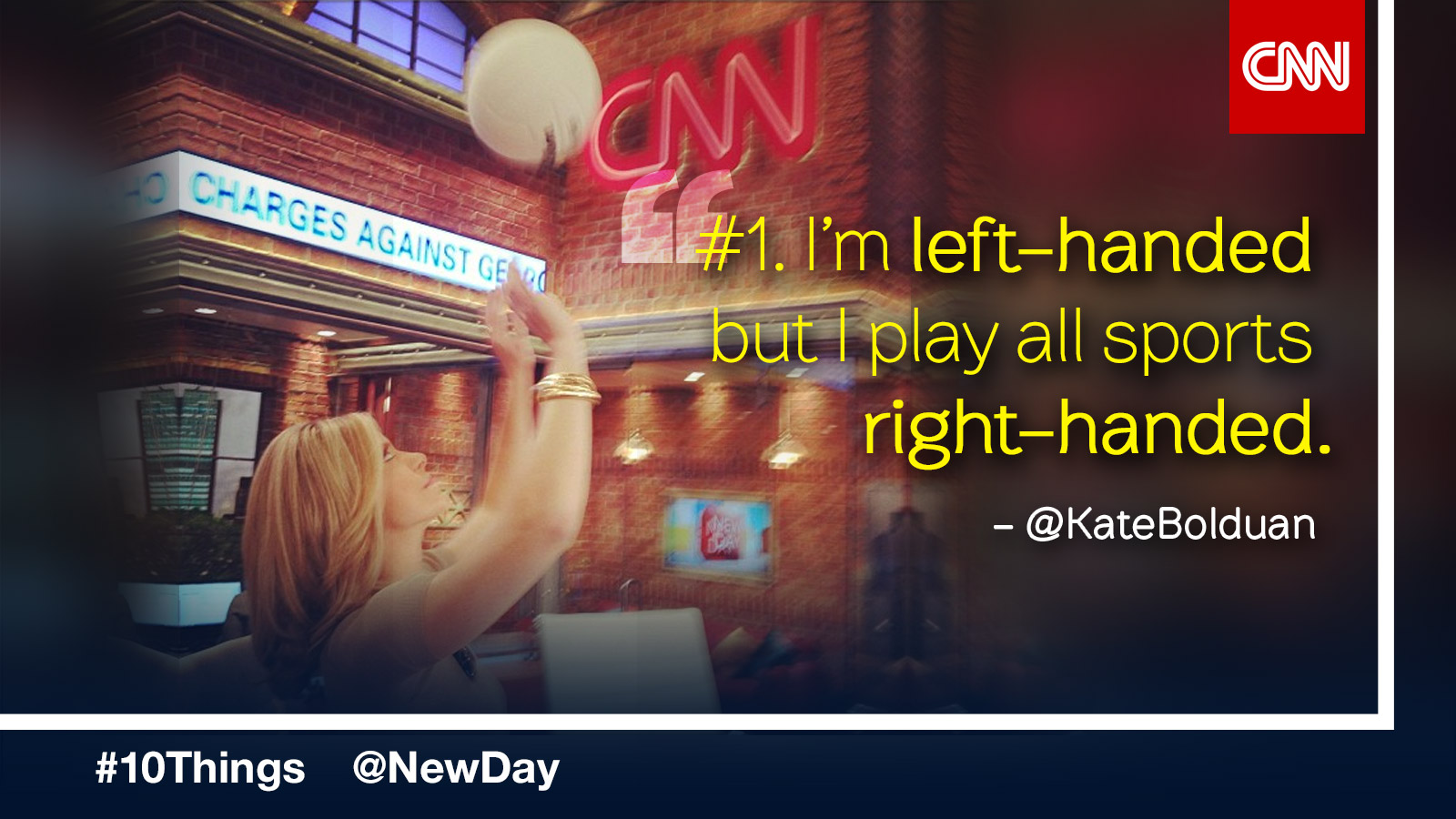 10 Things You Didn't Know About Kate Bolduan