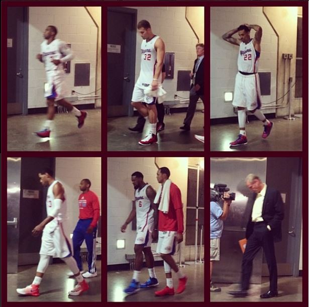 Photo of the Day: See Clippers Players After Their Playoff Loss