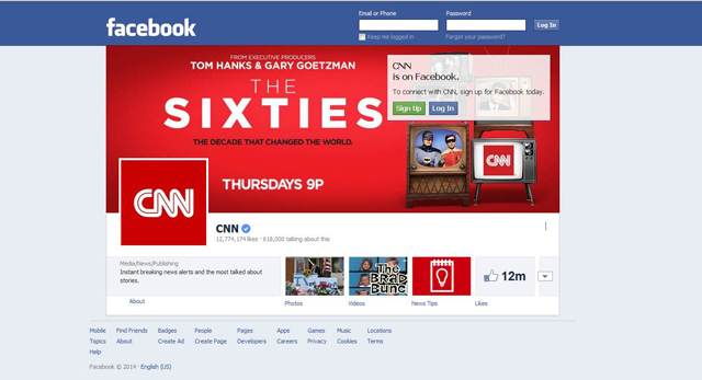 CNN and Facebook Join for THE SIXTIES