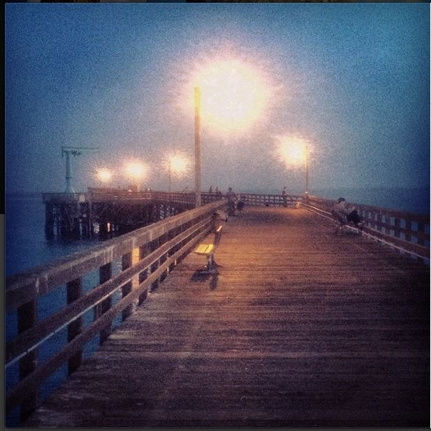 Photo of the Day: Lights on a California Pier