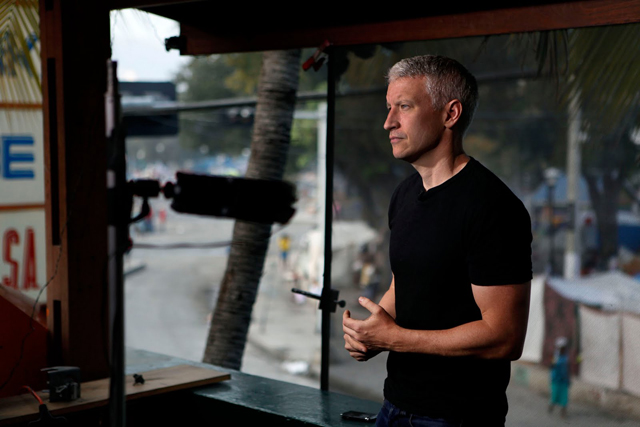 Anderson Cooper Anchors AC360 Live from Baghdad Beginning Tonight