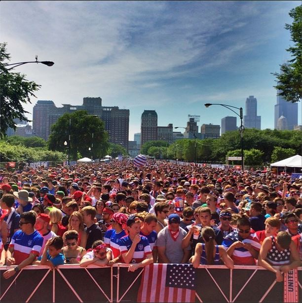 Photo of the Day: World Cup Viewing Party