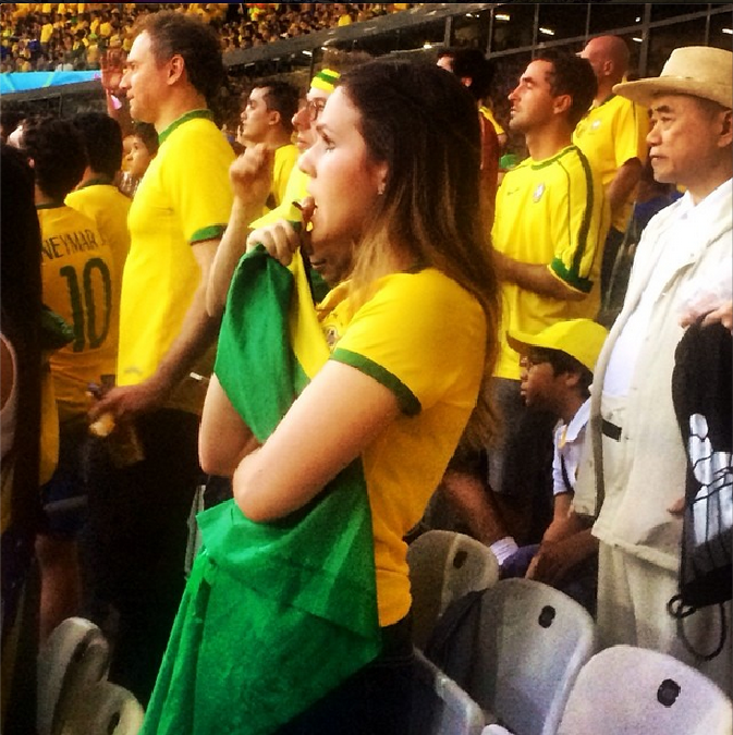 Photo of the Day: See Tense Brazil Fans