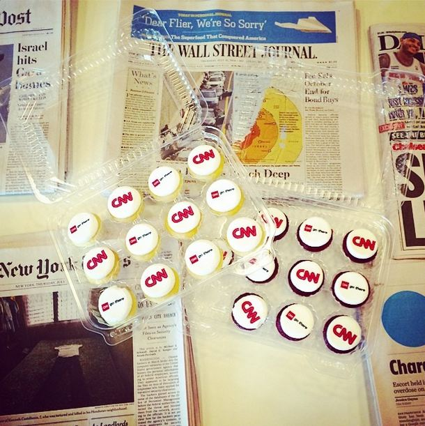 "Photo of the Day: ""Newsworthy"" Cupcakes & Today's Wrap-up, July 11, 2014"