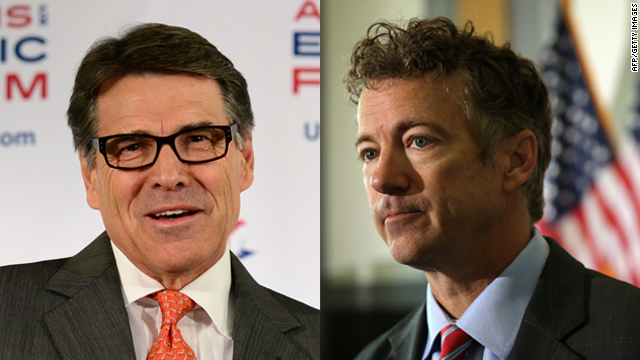 In the Perry versus Paul feud, McCain avoids picking sides