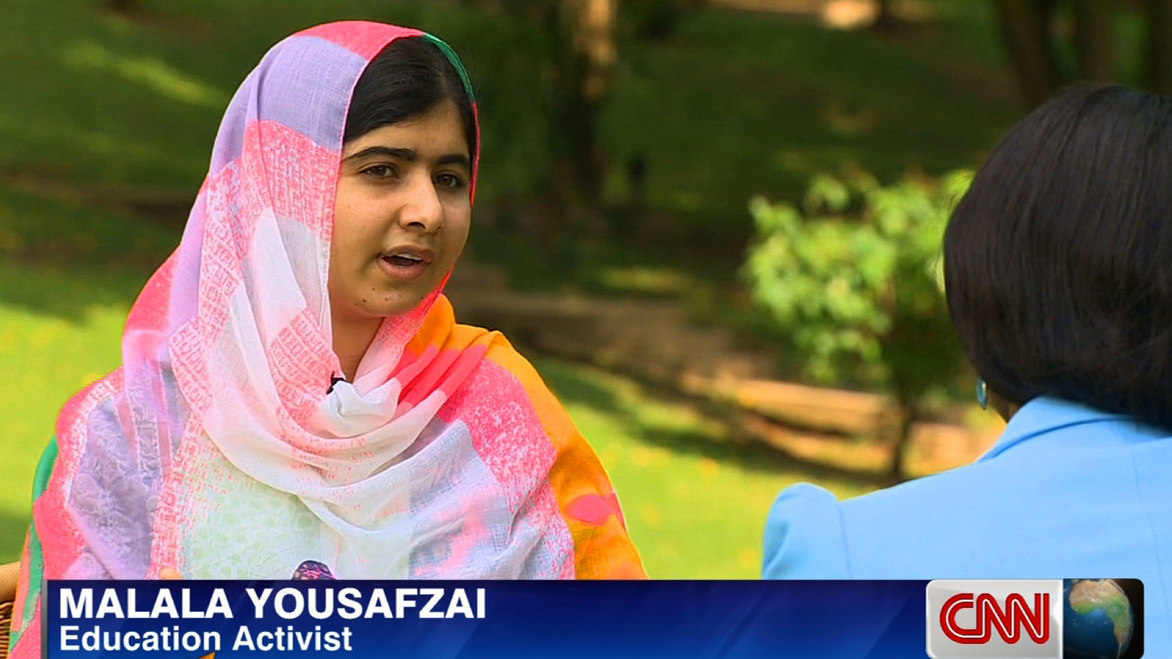 Malala Yousafzai talks to CNN's Isha Sesay about #BringBackOurGirls, turning 17