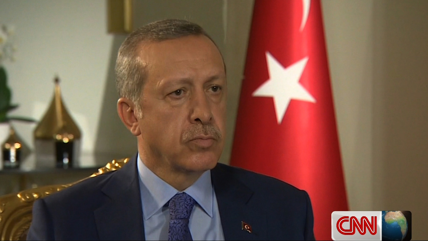 "Turkish PM Erdogan to CNN: ""Israel is a terror state."""
