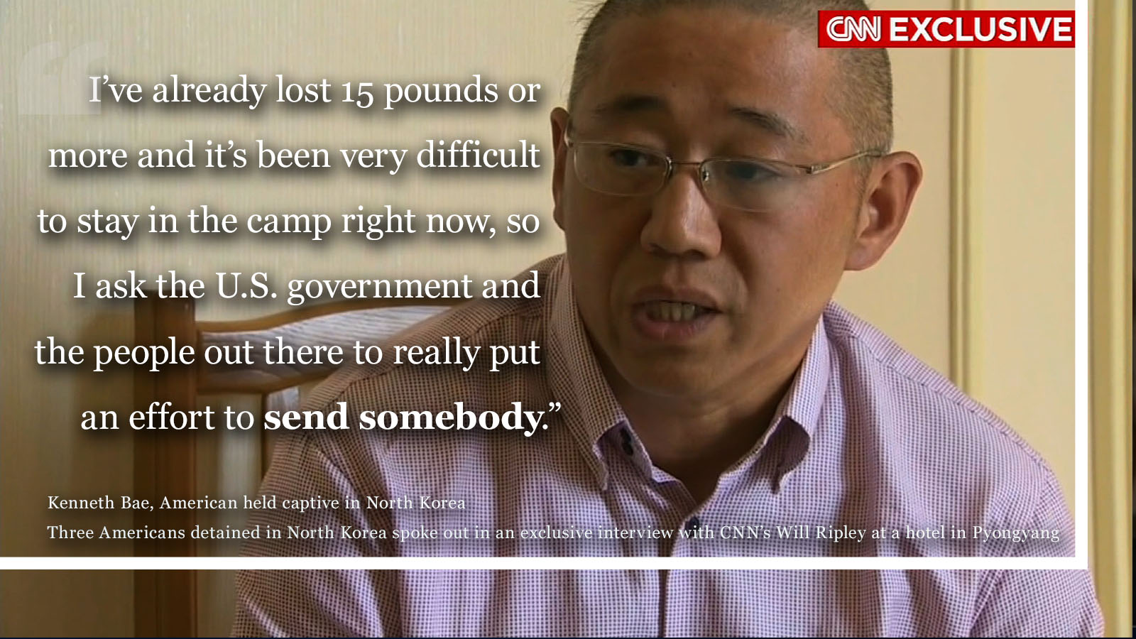 Americans Detained in North Korea Speak Out to CNN
