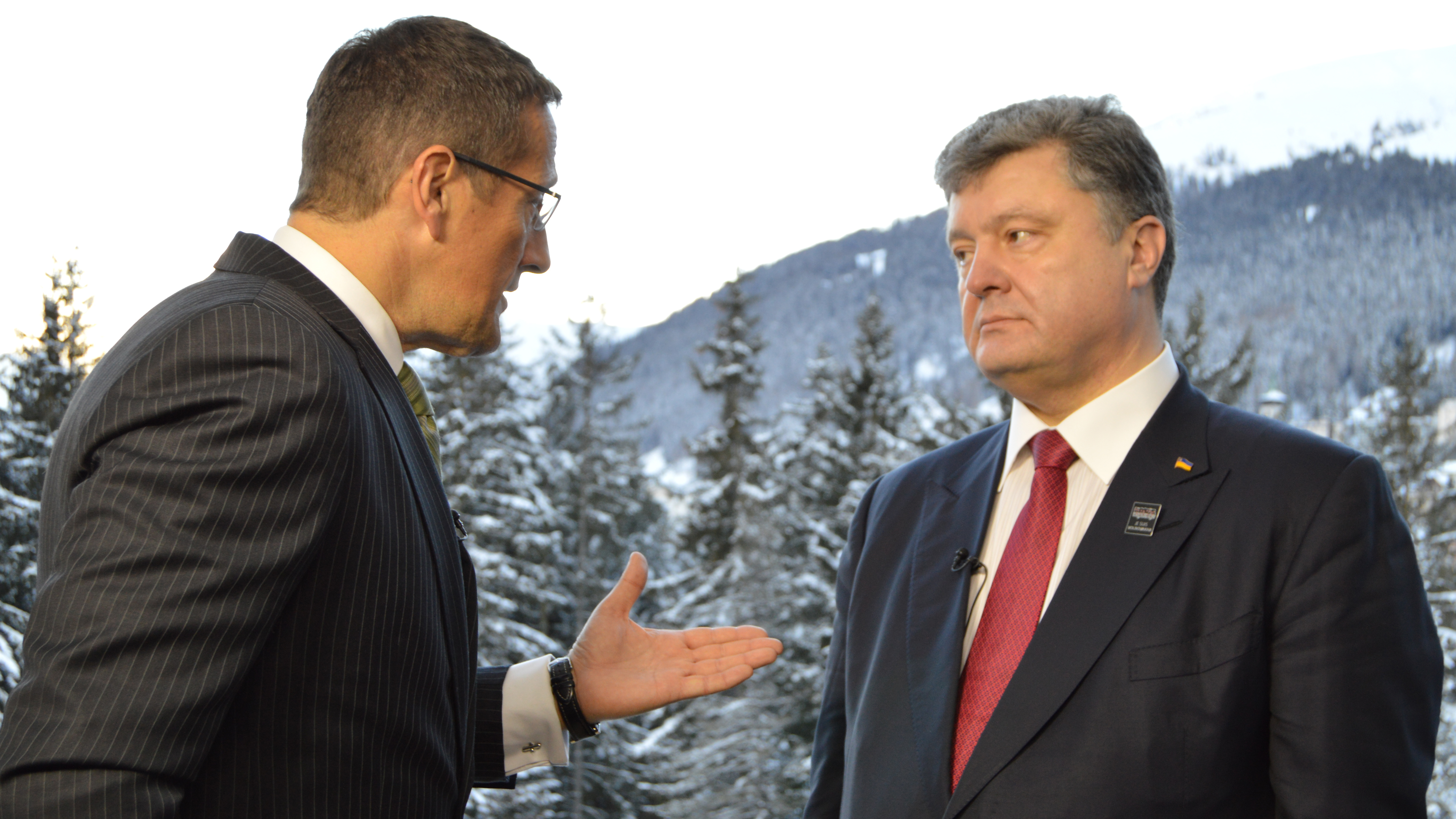 Ukrainian president tells CNN Ukraine may seek more sanctions against Russia