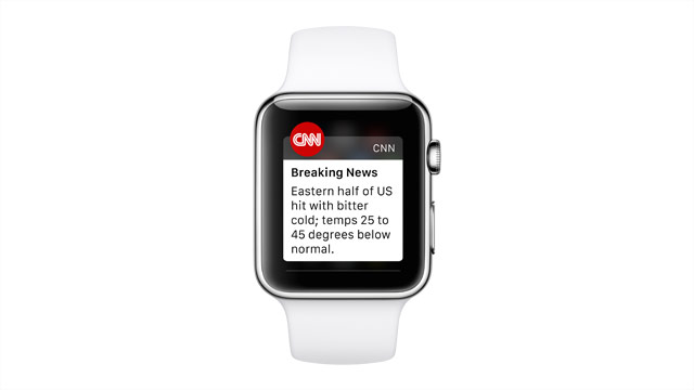 CNN is on Apple Watch