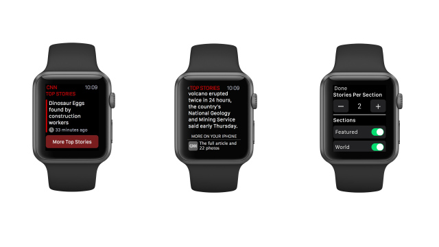 CNN App for Apple Watch Now Available