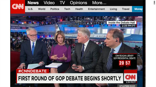 CNN Republican Presidential Primary Debate Live Stream
