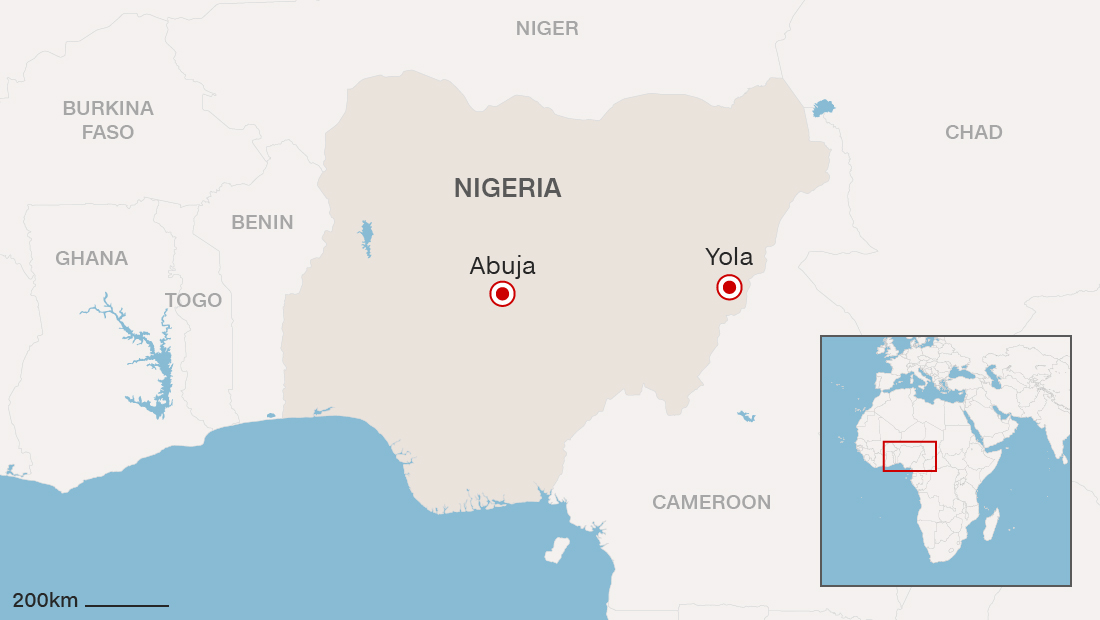Bomb blast kills dozens in Nigerian city of Yola
