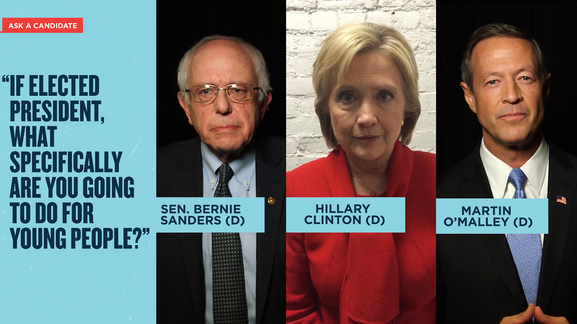 First on CNN: Democratic Candidates on Snapchat Discover