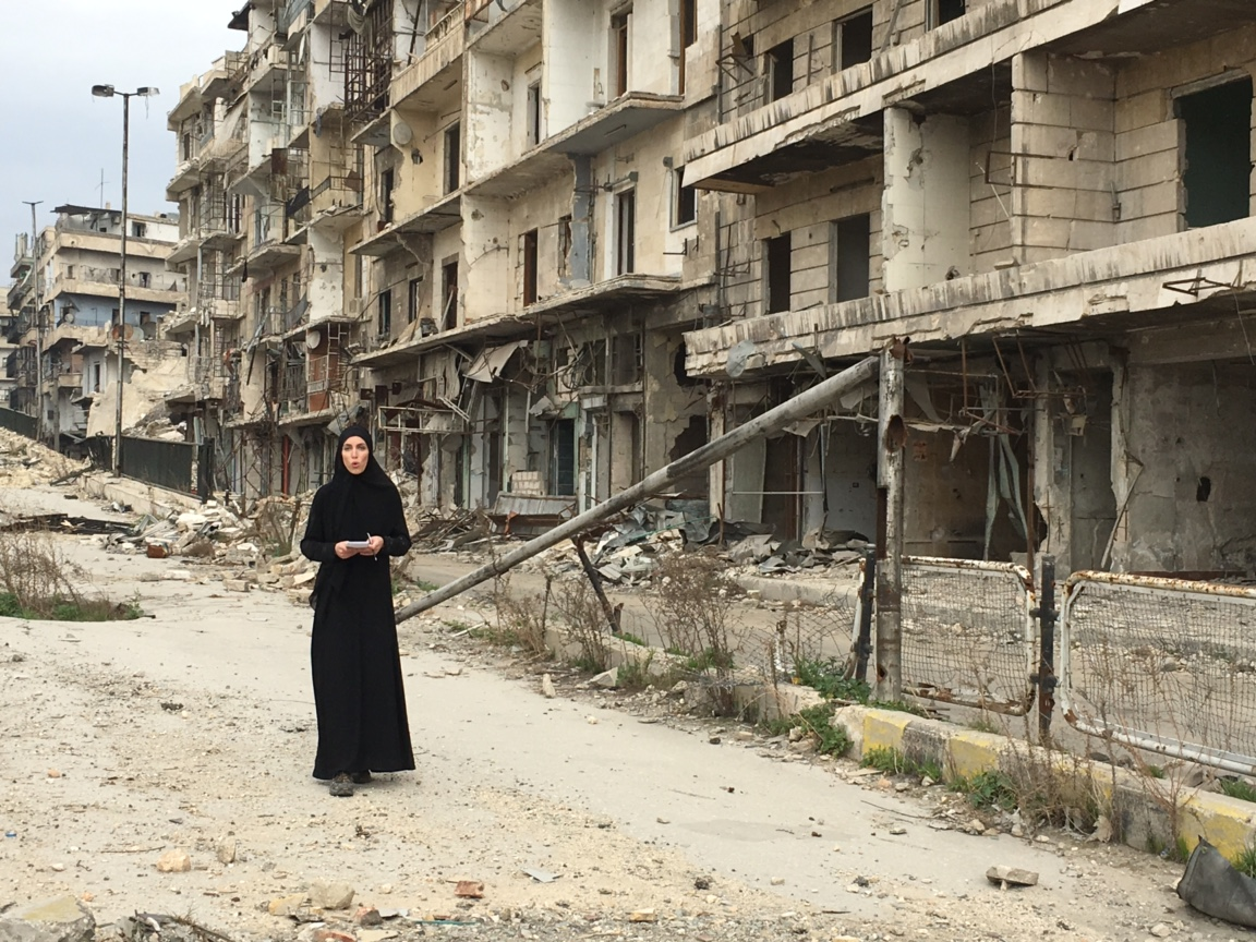 #UndercoverInSyria: Clarissa Ward reports from behind rebel lines
