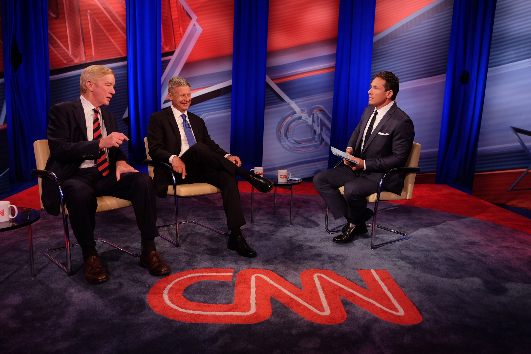 Transcript:  CNN Libertarian Town Hall moderated by Chris Cuomo
