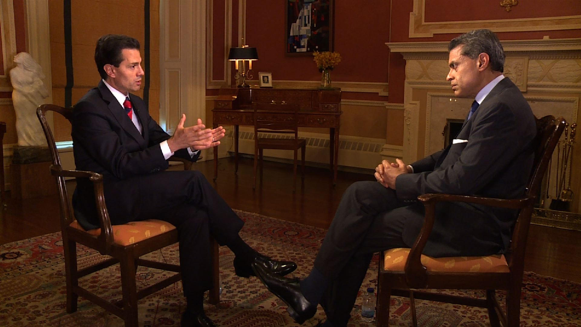 Mexican President Enrique Peña Nieto interviewed by CNN's Fareed Zakaria for Sunday EXCLUSIVE on July 10