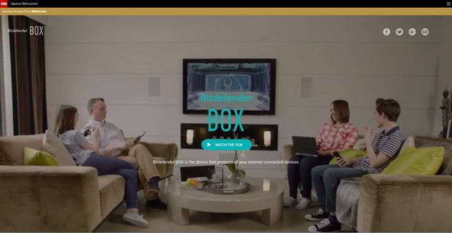 Bitdefender turns to CNN for smart home cybersecurity branded content campaign