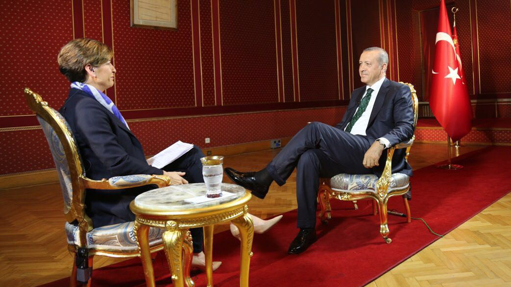 FULL TRANSCRIPT: CNN World Exclusive Interview with Turkish President Recep Tayyip Erdogan