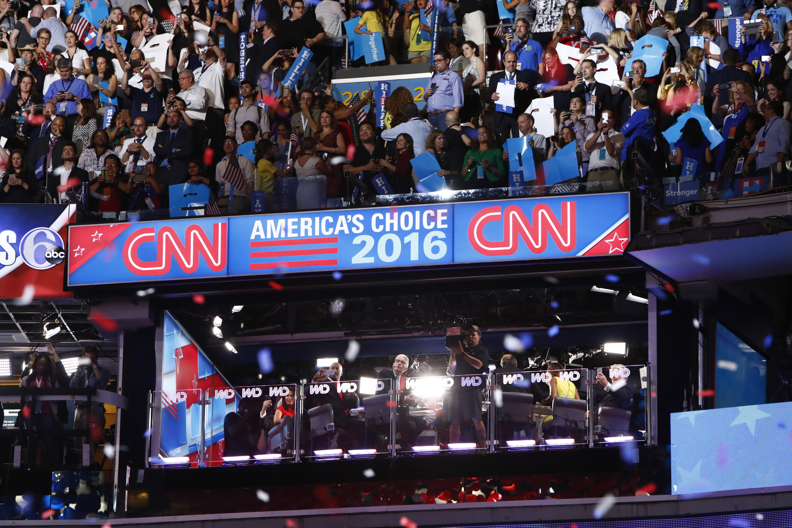 CNN Dominates All Nights of DNC