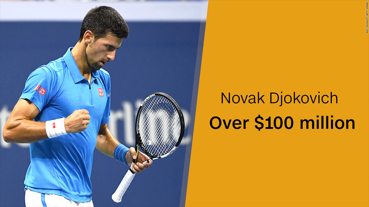 Grand Slam Winners With The Most Prize Money Cnnmoney