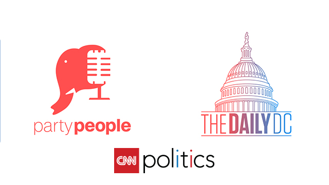 "CNN Politics Expands Podcast Portfolio With Launch of ""Party People"" and ""The Daily DC"""