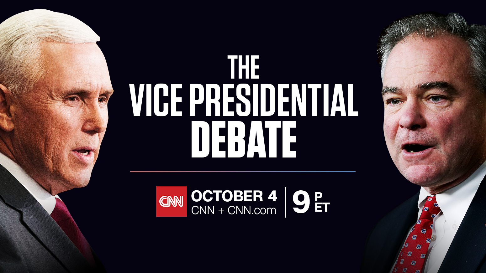 CNN To Live Stream The Vice Presidential Debate on CNN.com
