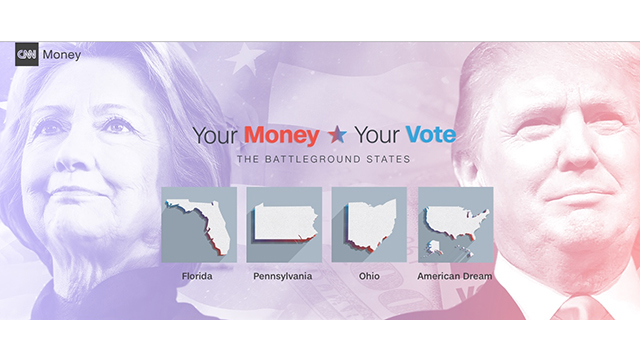 "CNN PRESENTS ""YOUR MONEY, YOUR VOTE: THE BATTLEGROUND STATES"""