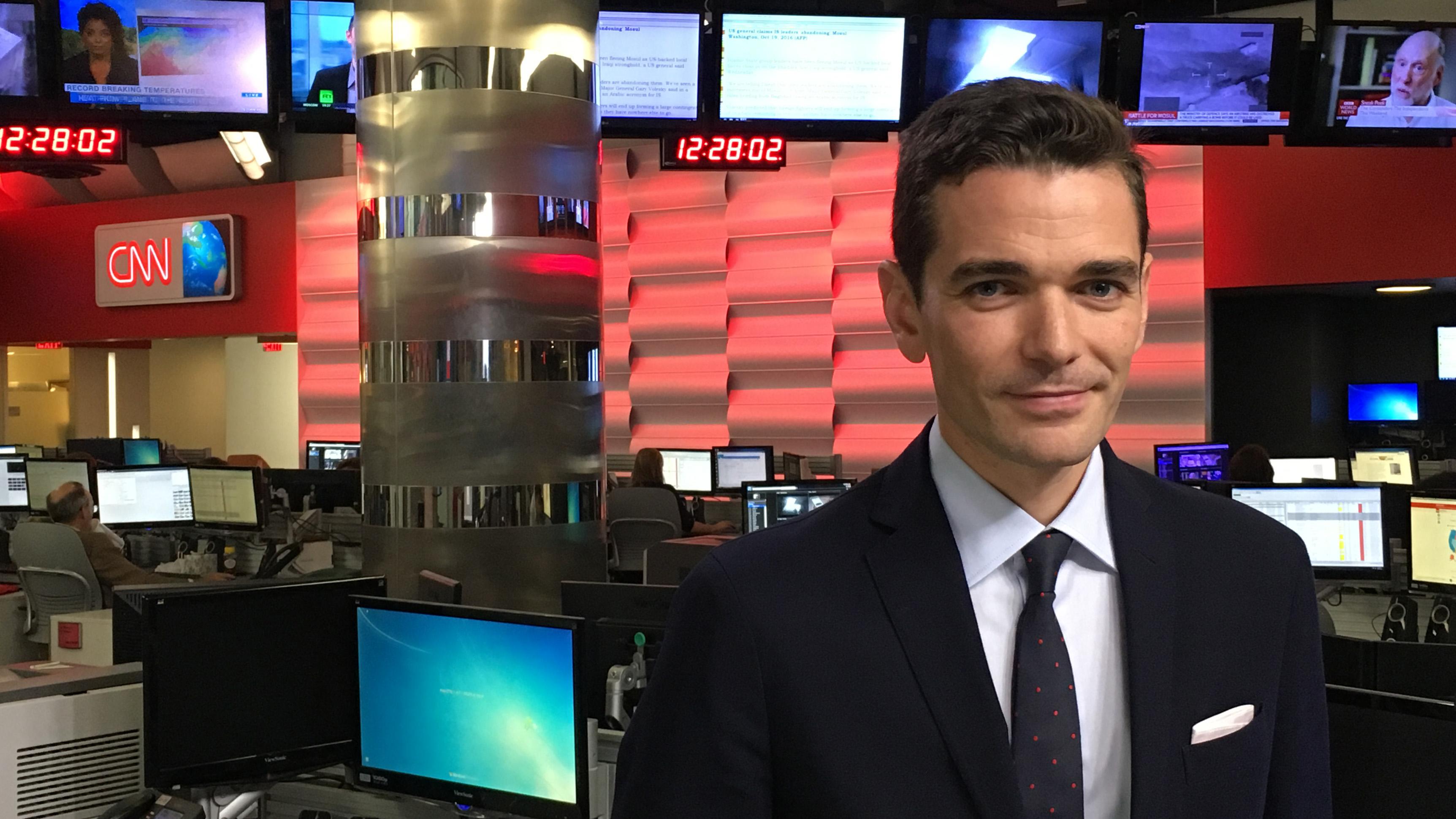 CNN International Adds Cyril Vanier to Atlanta Lineup