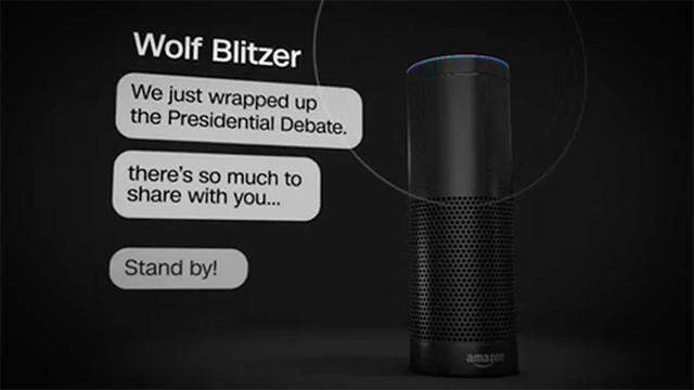 New CNN Skill Available on Amazon Echo