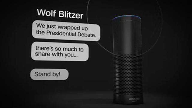 New CNN Skill Available on Amazon Echo