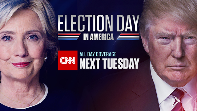 CNN to Deliver 24-Hour, Cross-Platform Coverage for Election Night in America 2016