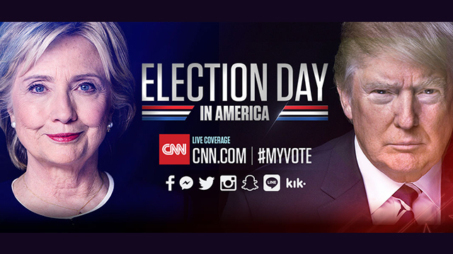 CNN TO LIVE STREAM ELECTION NIGHT COVERAGE