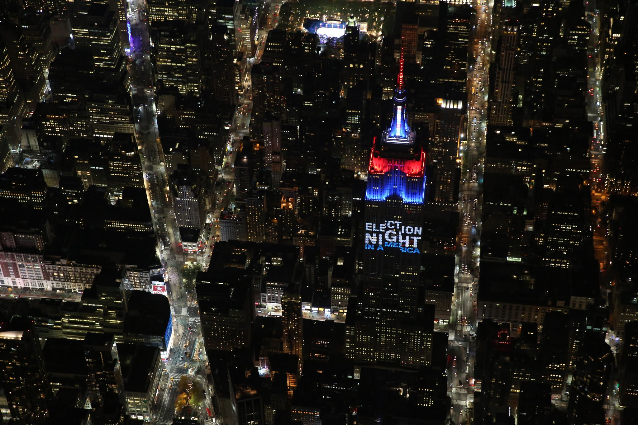 EMPIRE STATE BUILDING TEAMS WITH CNN, INSTAGRAM AND CA TECHNOLOGIES FOR AN UNPRECEDENTED ELECTION NIGHT ACTIVATION