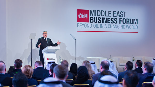 Business leaders gather in Abu Dhabi for first ever CNN Middle East Business Forum