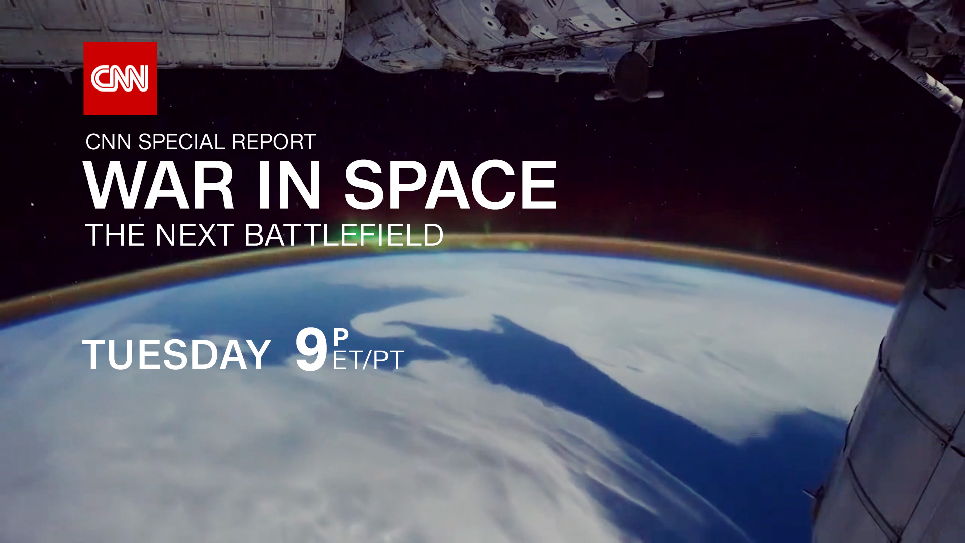 CNN to Premiere War in Space: The Next Battlefield at 9 p.m. on Nov. 29