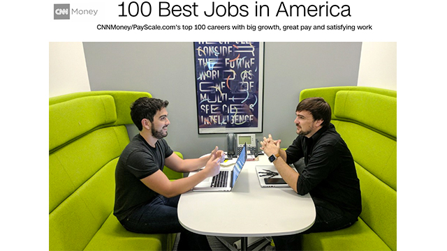 CNNMoney Presents the Best Jobs in America