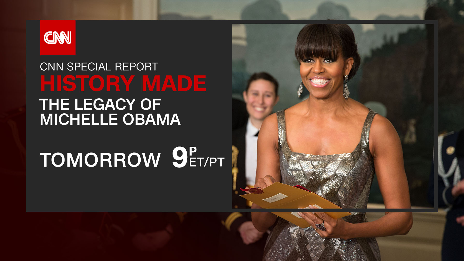 'HISTORY MADE: THE LEGACY OF MICHELLE OBAMA' TO AIR JANUARY 13TH AT 9PMET