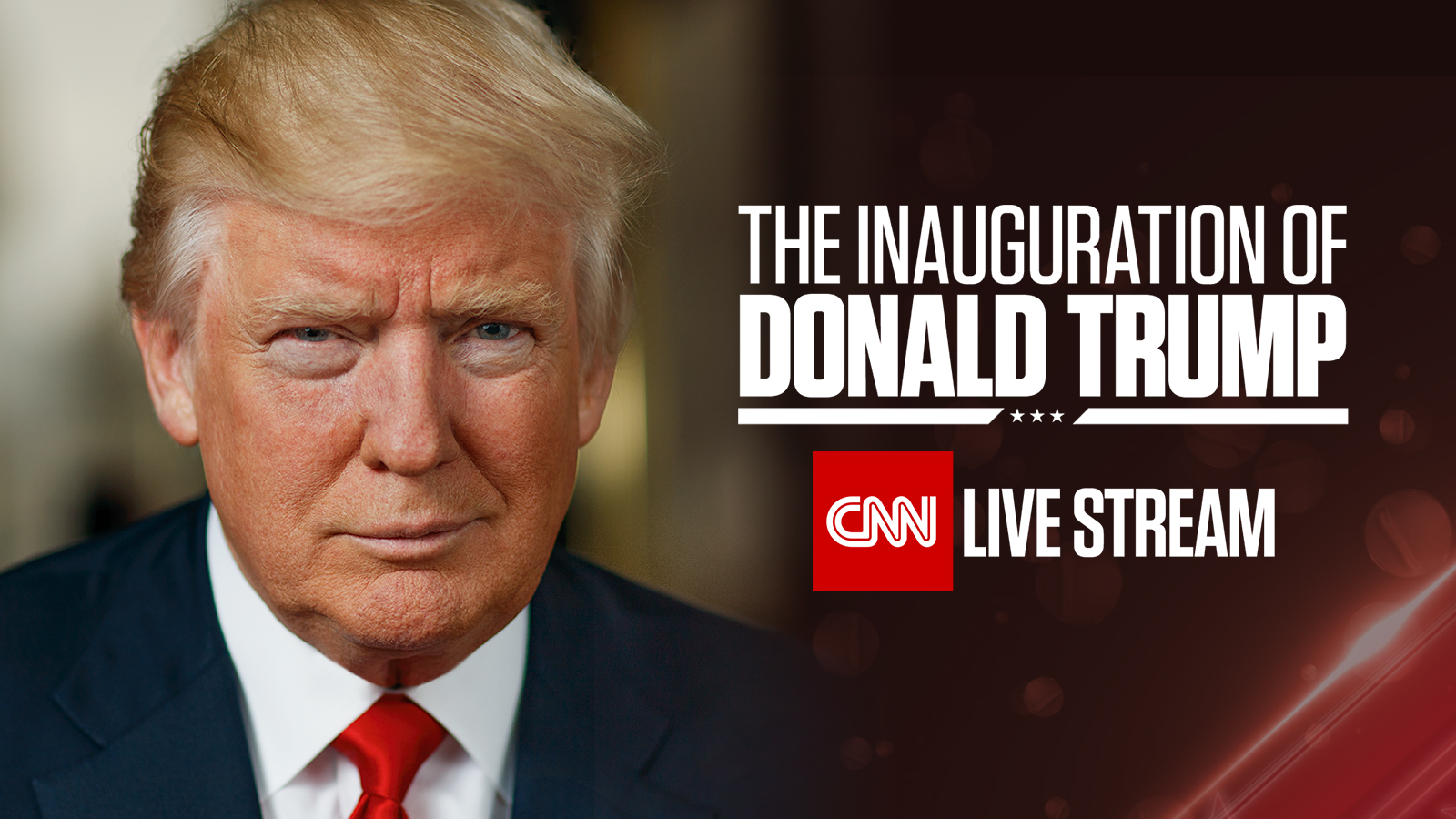 CNN TO LIVE STREAM INAUGURATION DAY COVERAGE