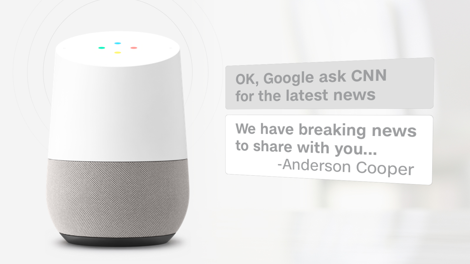 CNN Now Available on Google Home