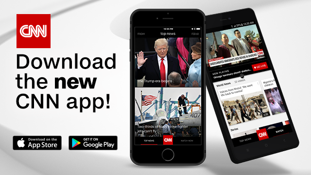 CNN DEBUTS REIMAGINED MOBILE APP