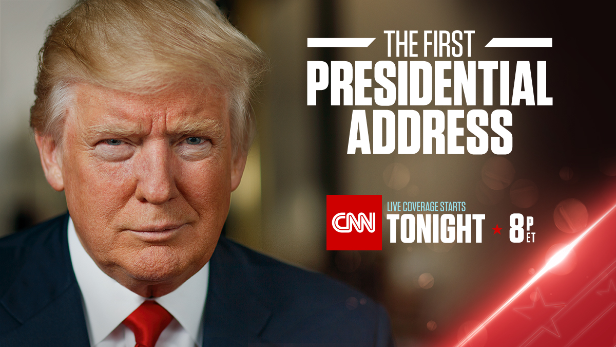 CNN to Live Stream President Trump's Address to Congress