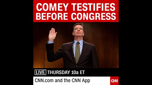 CNN To Live Stream Comey Testimony