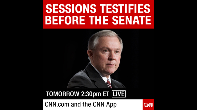CNN To Live Stream AG Jeff Sessions Testimony
