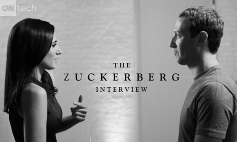 CNN Tech's On Camera Exclusive with Facebook CEO Mark Zuckerberg