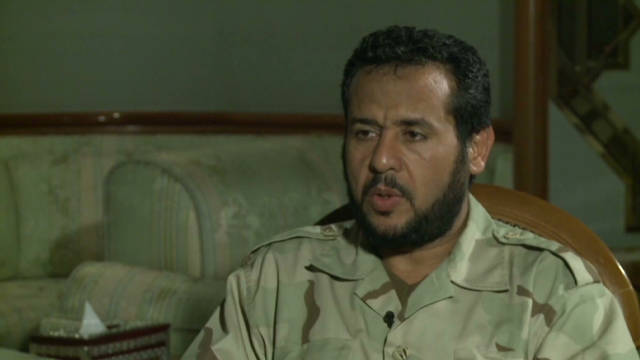 Former jihadist at the heart of Libya&#039;s revolution