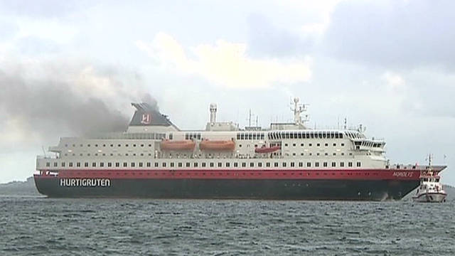 Two Killed Several Injured In Norwegian Cruise Ship Fire CNNcom - Cruise ship norway