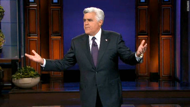 Jay Leno jokes about 'Tonight Show' layoffs